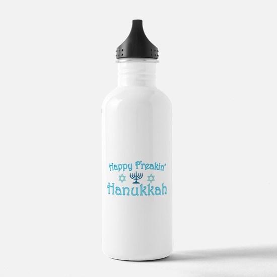 Happy Hanukkah Water Bottle