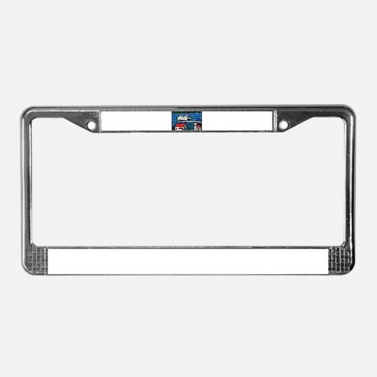 Cute Wa License Plate Frame