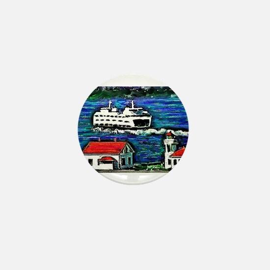 Cute Whidbey island Mini Button