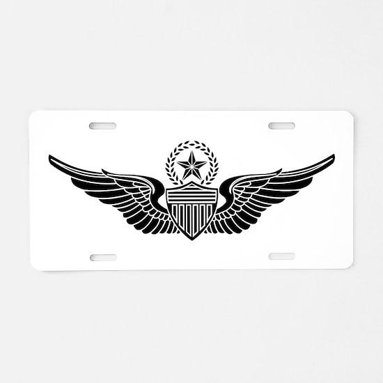 Aviator - Master B-W Aluminum License Plate