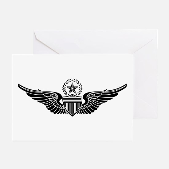 Aviator - Master B-W Greeting Cards (Pk of 10)