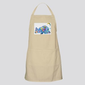 Cat of Moon and Stars Apron