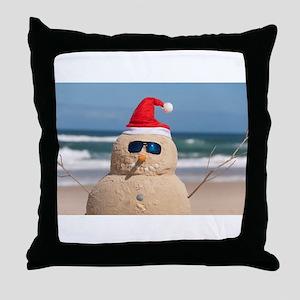 Sandman Holidays Throw Pillow