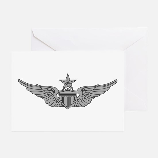 Aviator - Senior Greeting Cards (Pk of 10)