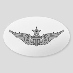 Aviator - Senior Sticker (Oval)