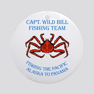 WIld Bill Fishing Team Ornament (Round)