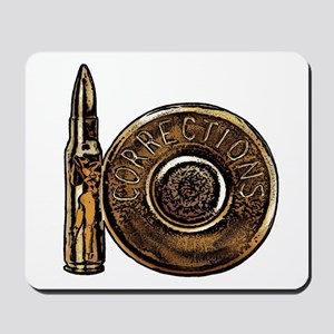 Corrections Bullet Mousepad