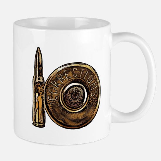 Corrections Bullet Mug
