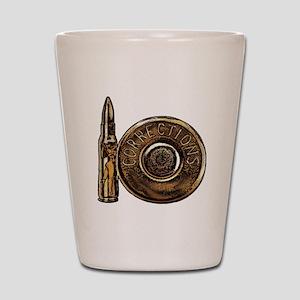 Corrections Bullet Shot Glass
