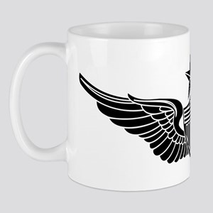 Aviator - Senior B-W Mug