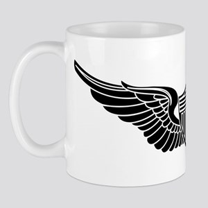Aviator B-W Mug
