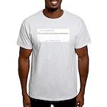 Structured Procrastination Ash Grey T-Shirt