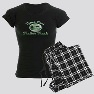 Upper Class Trailer Trash Women's Dark Pajamas
