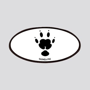 Guinea Pig Paw Print Patches