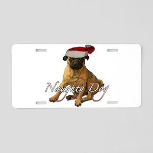 Naughty dog 3 Aluminum License Plate
