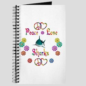 Peace Love Sharks Journal