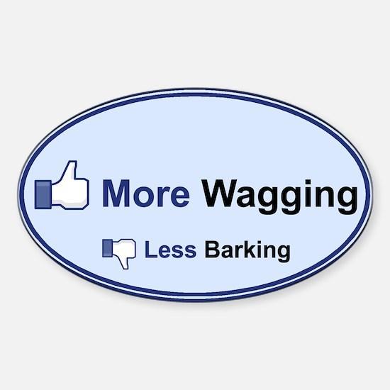 I Like Wagging! - Decal