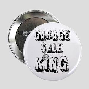 """Garage Sale King 2.25"""" Button"""