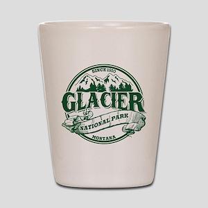 Glacier Old Circle Shot Glass