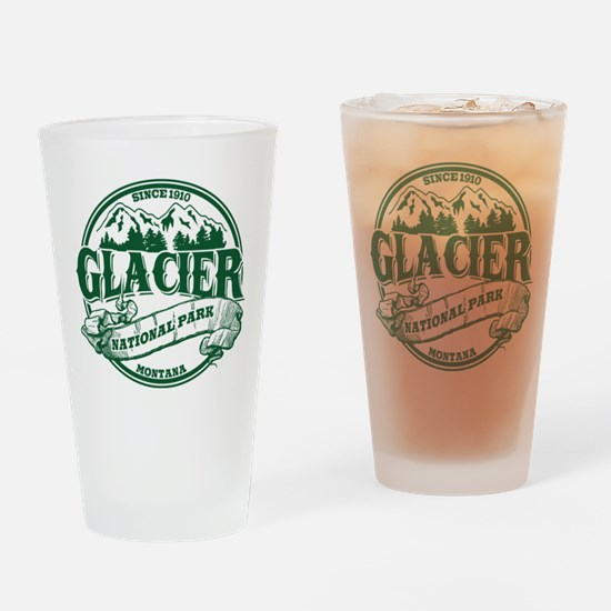 Glacier Old Circle Drinking Glass