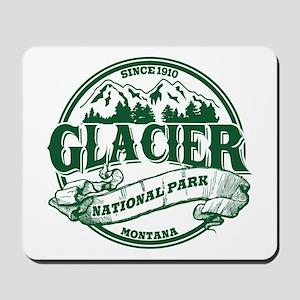Glacier Old Circle Mousepad