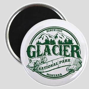 Glacier Old Circle Magnet