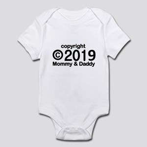 Copyright 2017 Mommy and Daddy Infant Bodysuit