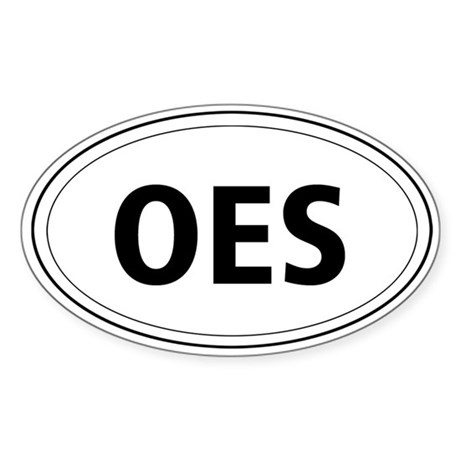 Old English Sheepdog Oval Sticker