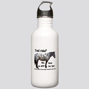 Trail Ride App Stainless Water Bottle 1.0L