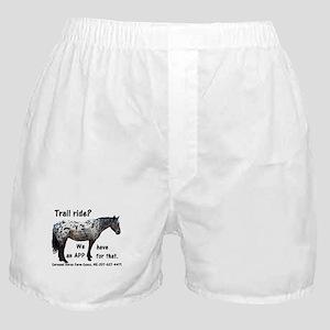 Trail Ride App Boxer Shorts