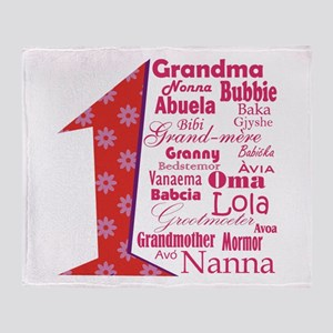 1 Grandmother / Throw Blanket
