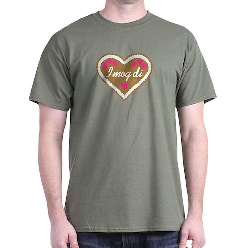 Oktoberfest lebkuchen heart T-Shirt
