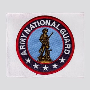 Army National Guard Throw Blanket