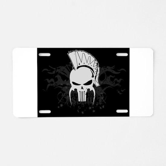 Dead Sparta Aluminum License Plate