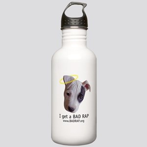 I Get a Bad Rap Stainless Water Bottle 1.0L