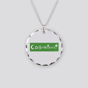 Conservationist Necklace Circle Charm