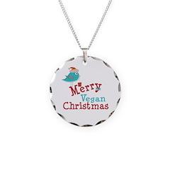 Vegan Christmas Necklace