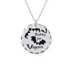 Batty for Vegans Necklace