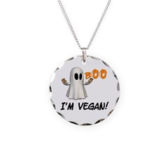 Vegan Ghost Necklace