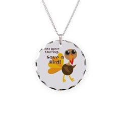 Save a Turkey Necklace