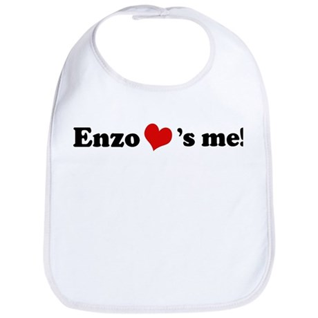 Enzo loves me Bib