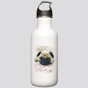 Pug Dog Stainless Water Bottle 1.0L