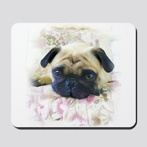 Pug Dog Mousepad
