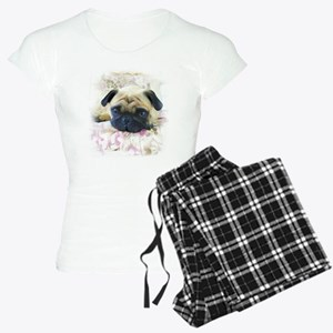 Pug Dog Women's Light Pajamas