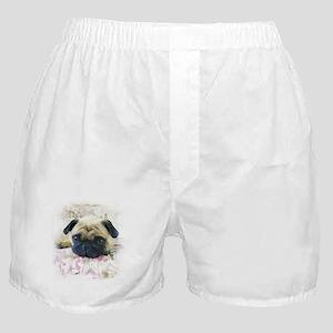 Pug Dog Boxer Shorts