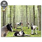 Gypsy Horses Herd Puzzle