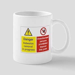 Asbestos Mug