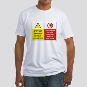 Asbestos Fitted T-Shirt