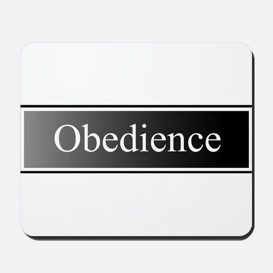 Obedience Mousepad