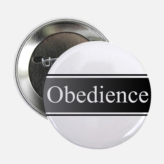 "Obedience 2.25"" Button"